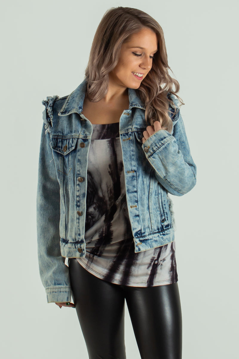 cute denim jacket, cute jean jacket