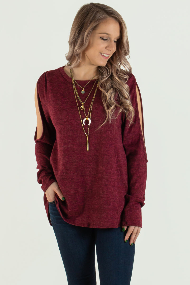 Trendy burgundy sweater, Trendy sweaters