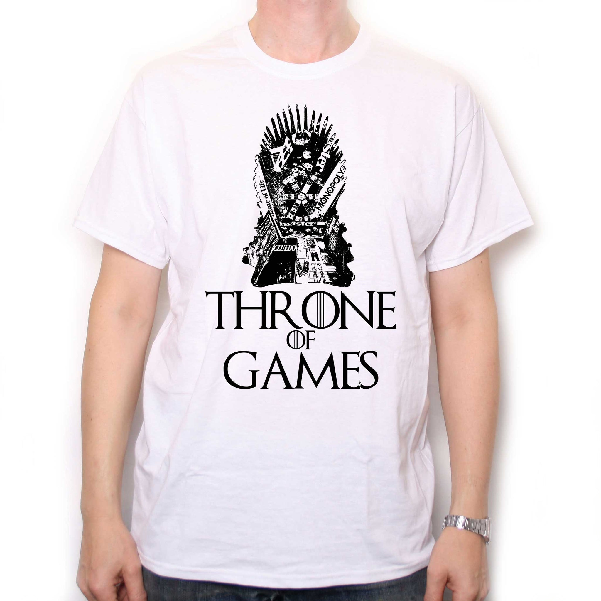 a4315eef8 Throne Of Games T Shirt - Fantasy Board Game Tee!   Gaming T Shirts ...