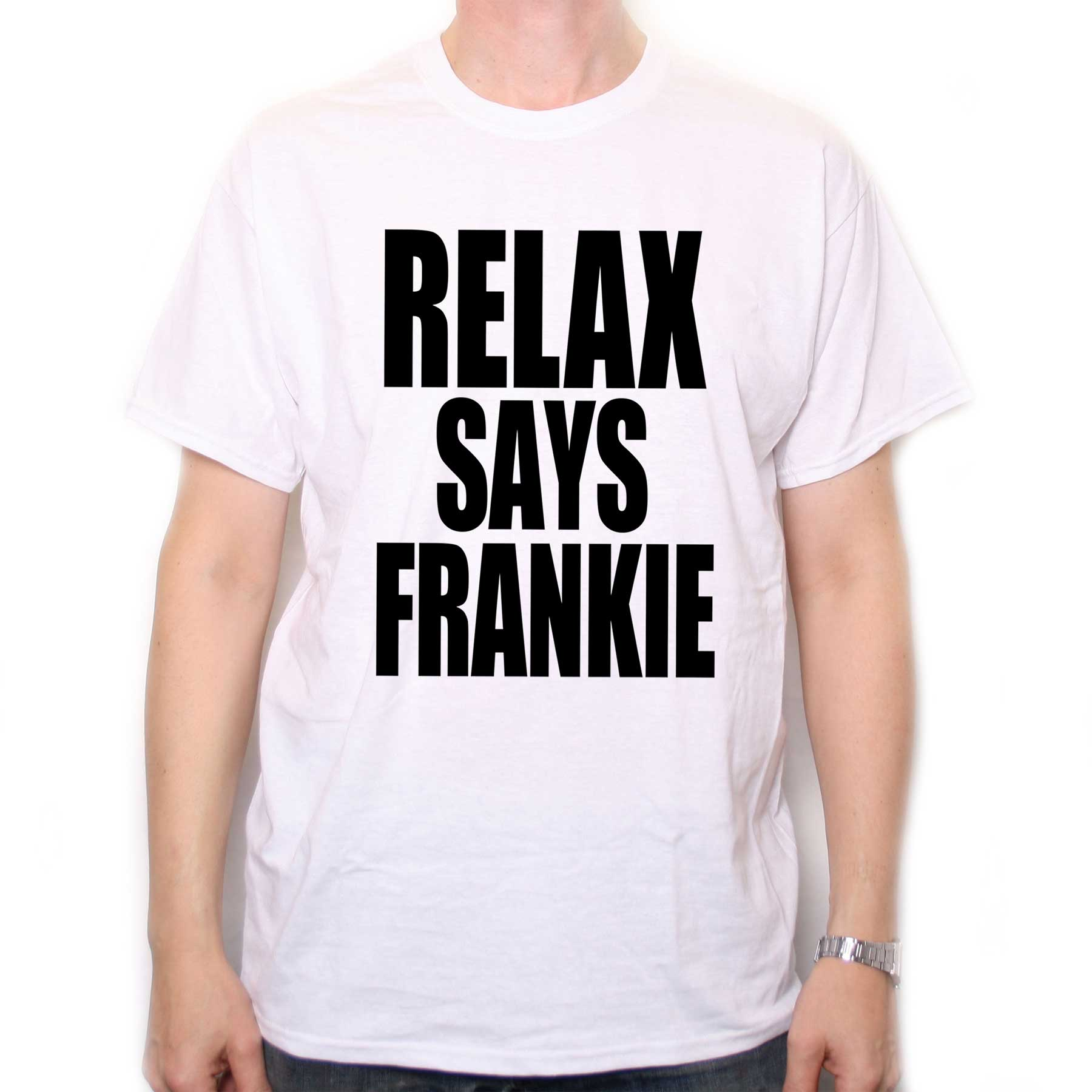 Frankie Says Whistle t-shirt