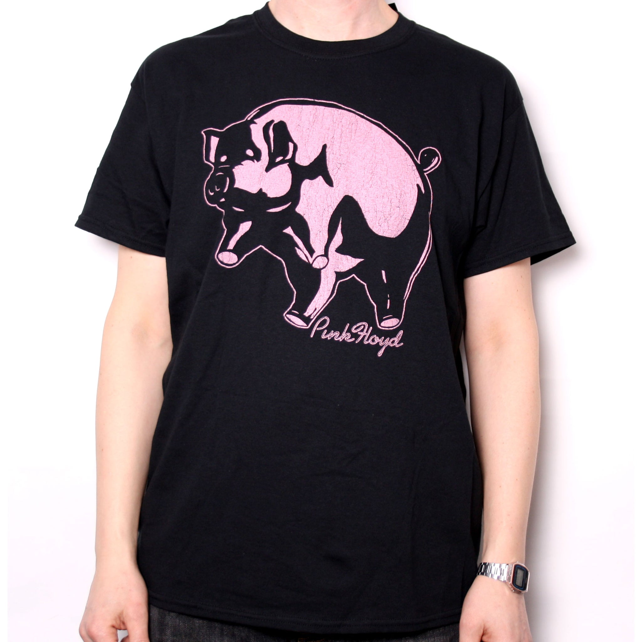 PINK FLOYD ANIMALS Album Cover Vintage Style Adult Long Sleeve T-Shirt S-3XL
