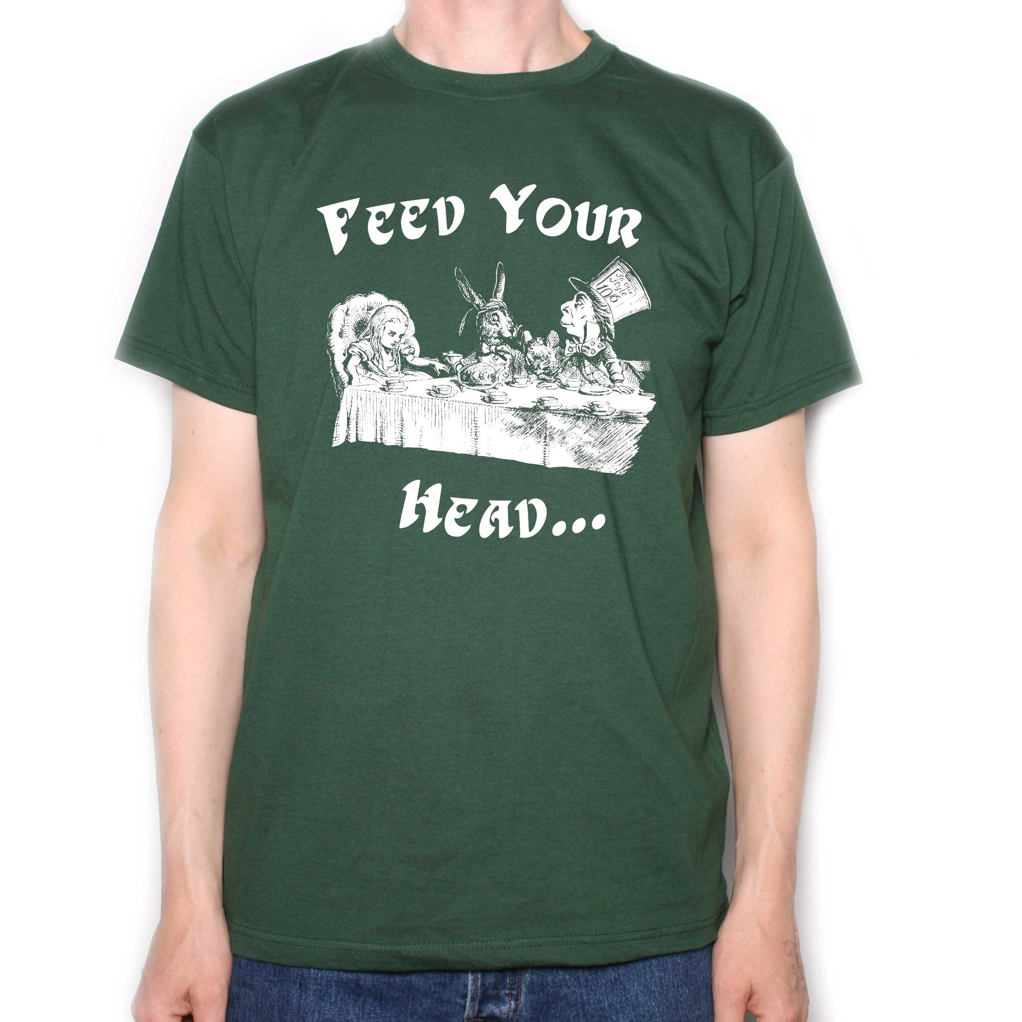 Jefferson Airplane Men/'s Feed Your Head T-Shirt