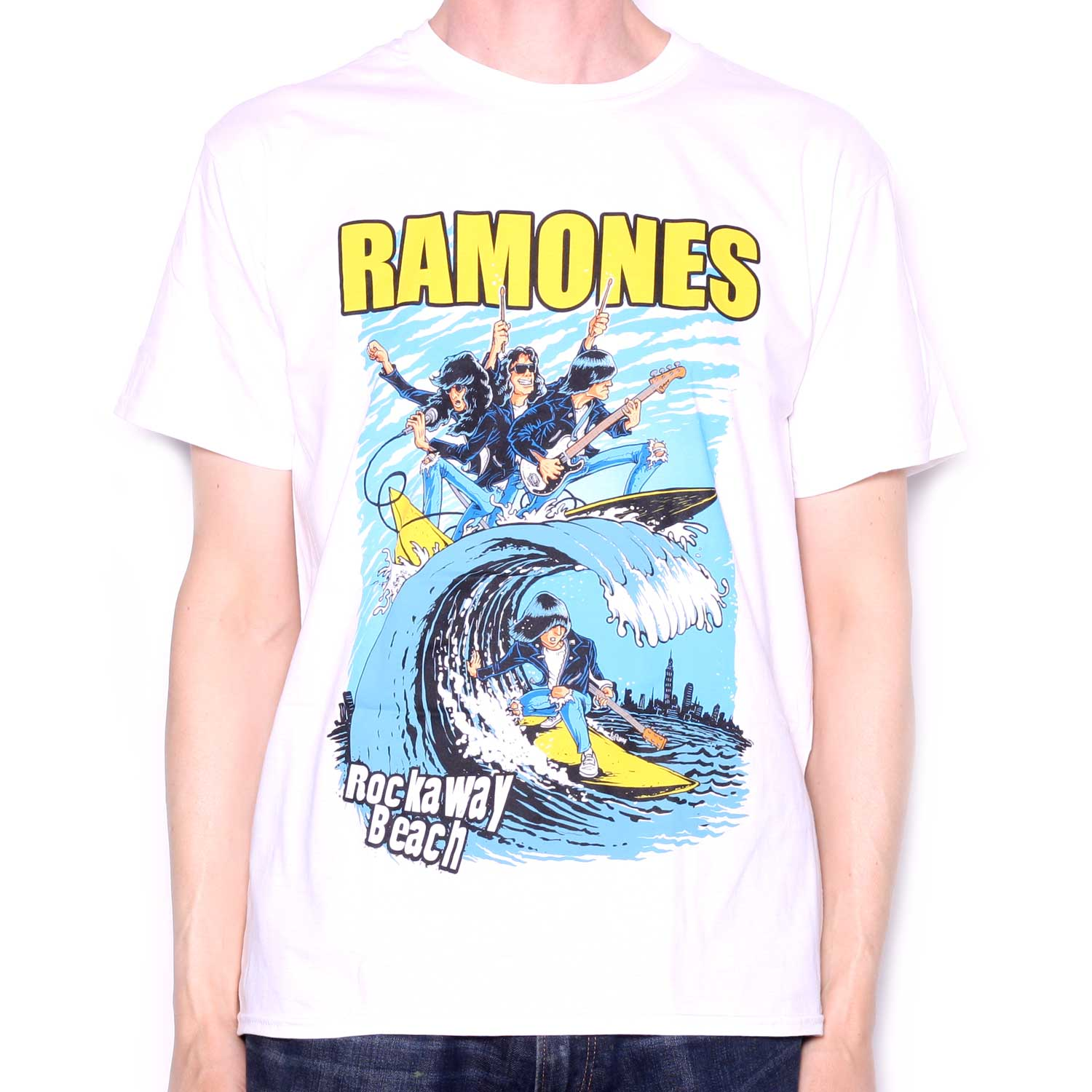 31412420 The Ramones T Shirt - Rockaway Beach | Classic Punk T Shirts from ...