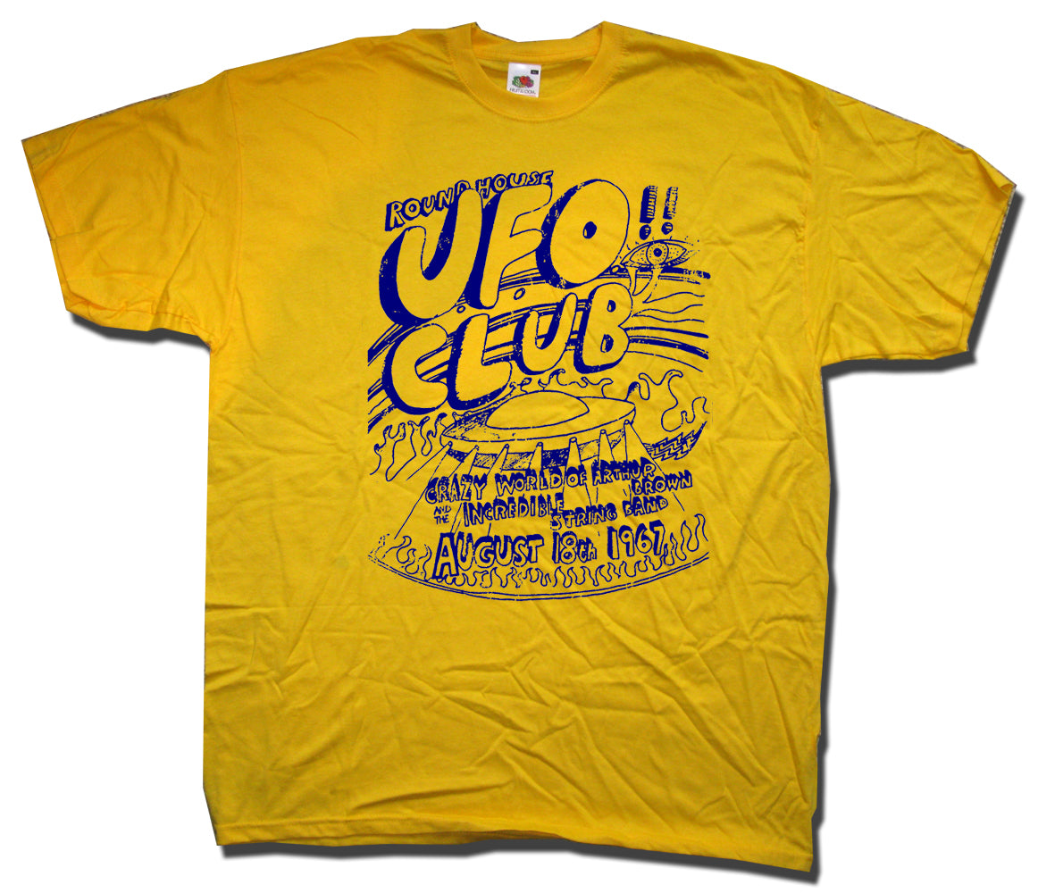 Ufo Rock Band T Shirts