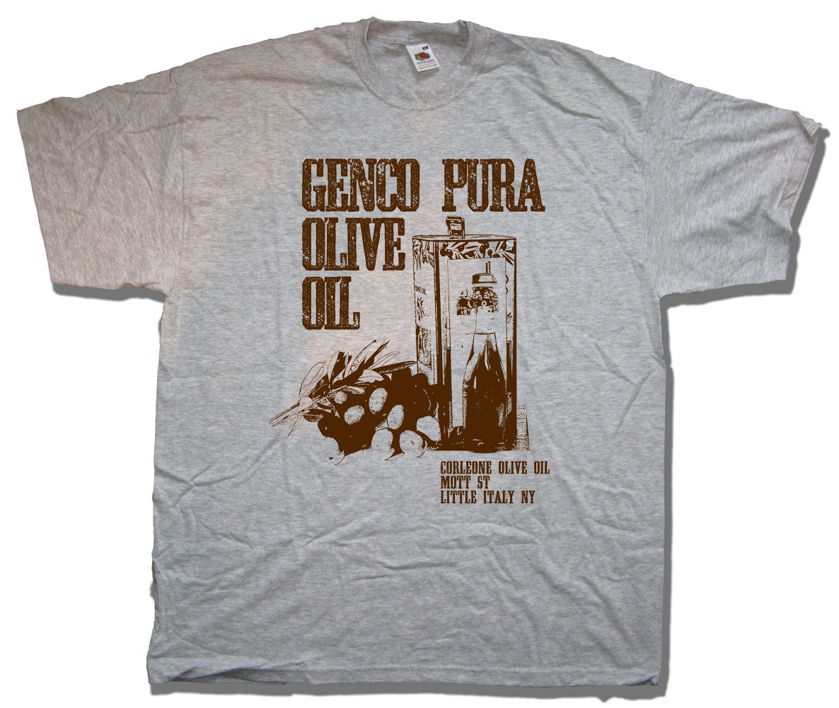 1df2ad8e Inspired by The Godfather T shirt - Genco Olive Oil   Cult Movie T ...