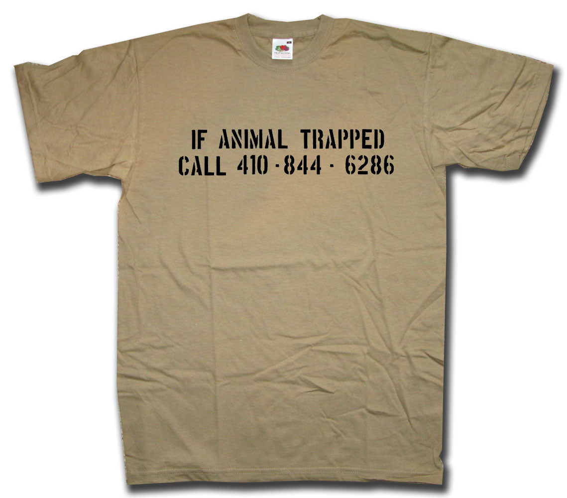 Animal Trapped T shirt inspired by The Wire I Cult TV T shirts at ...