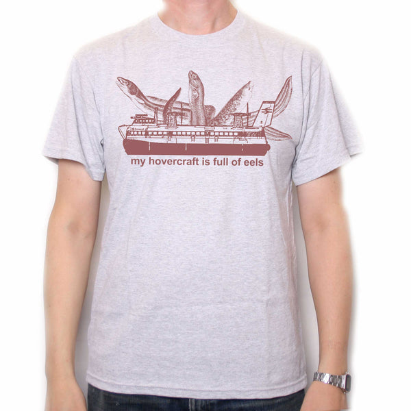 Inspired By Monty Python T Shirt My Hovercraft Classic Tv Comedy T Shirts From Old Skool Hooligans