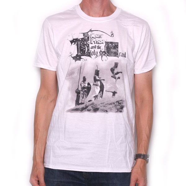 9b01ea8bc Monty Python T Shirt - Monty Python & The Holy Grail 100% Officially  Licensed