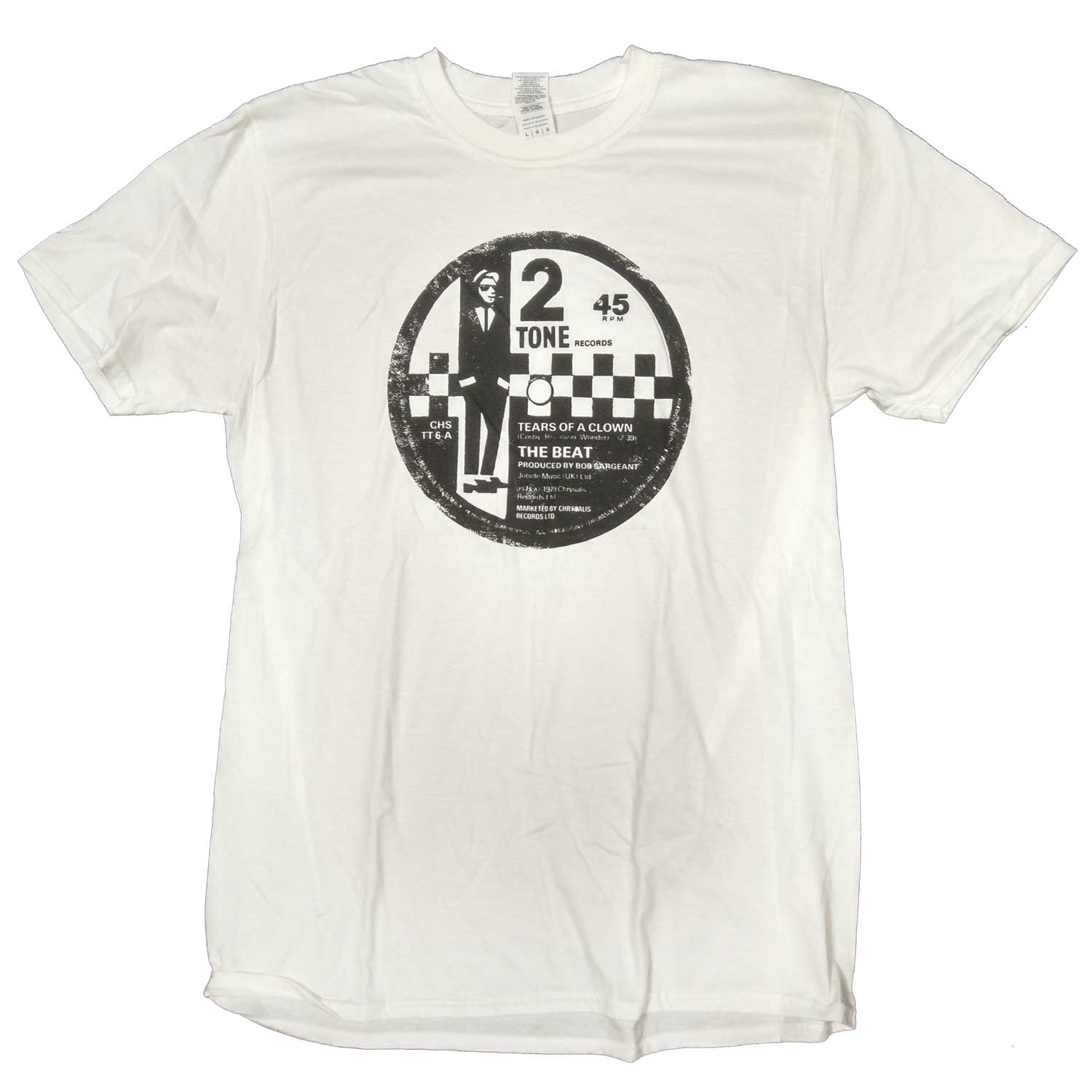a433cac5d9b The Beat T Shirt - Two Tone Tears Of A Clown Label 100% Official