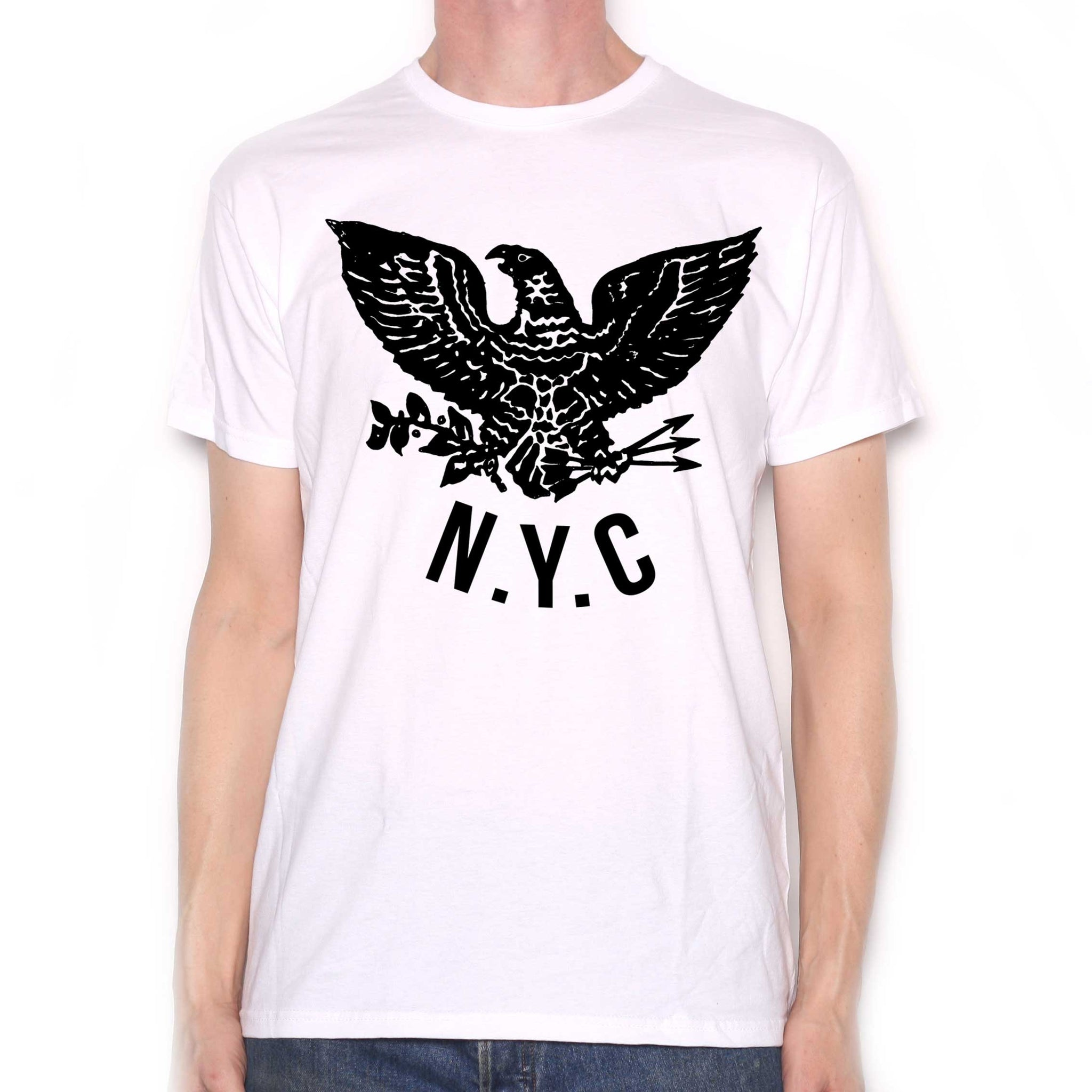 As Worn By Joey Ramone T Shirt - N.Y.C Eagle  1fe8260f5a0
