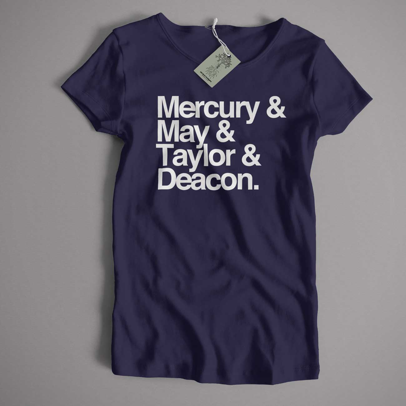 152d474a Mercury May Taylor & Deacon Names T Shirt – Old Skool Hooligans