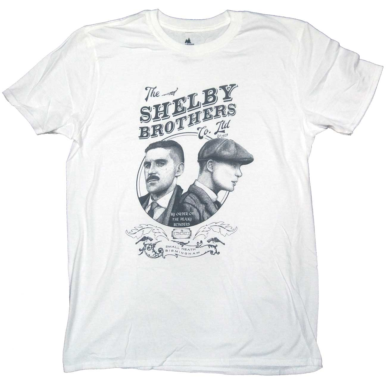 2bdb1162 Peaky Blinders T Shirt - Shelby Brothers Co. Ltd 100% Officially Licensed  Merchandise