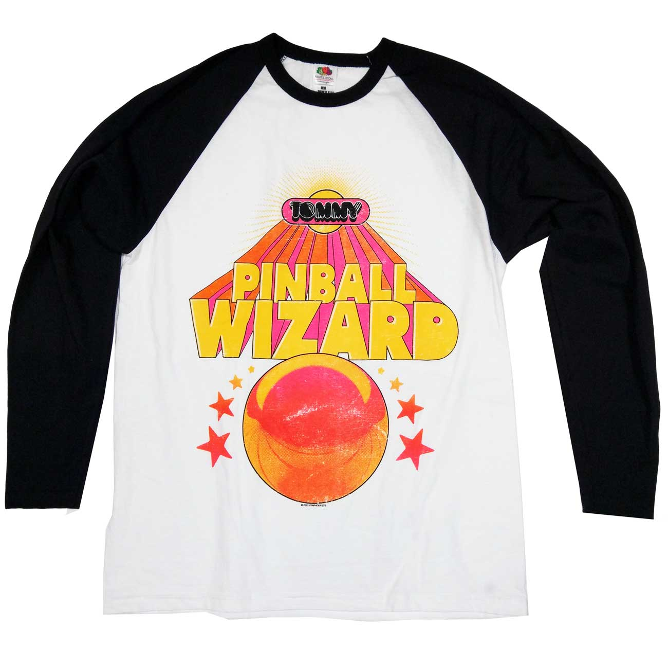 premium selection b083d dbd69 The Who T Shirt - Pinball Wizard 100% Official Long Sleeve
