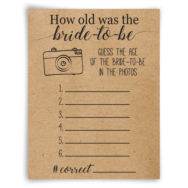 How Old Was The Bride To Be