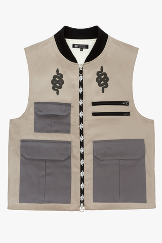 UTILITY LIGHT GREY VEST