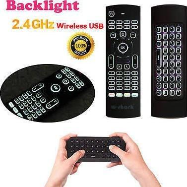 WIRELESS LED KEYBOARD & AIR MOUSE REMOTE - AmiriKing