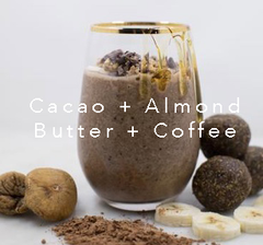 Cacao + Almond Butter + Coffee | Hushup + Hustle