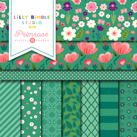 New Primrose Digital Paper