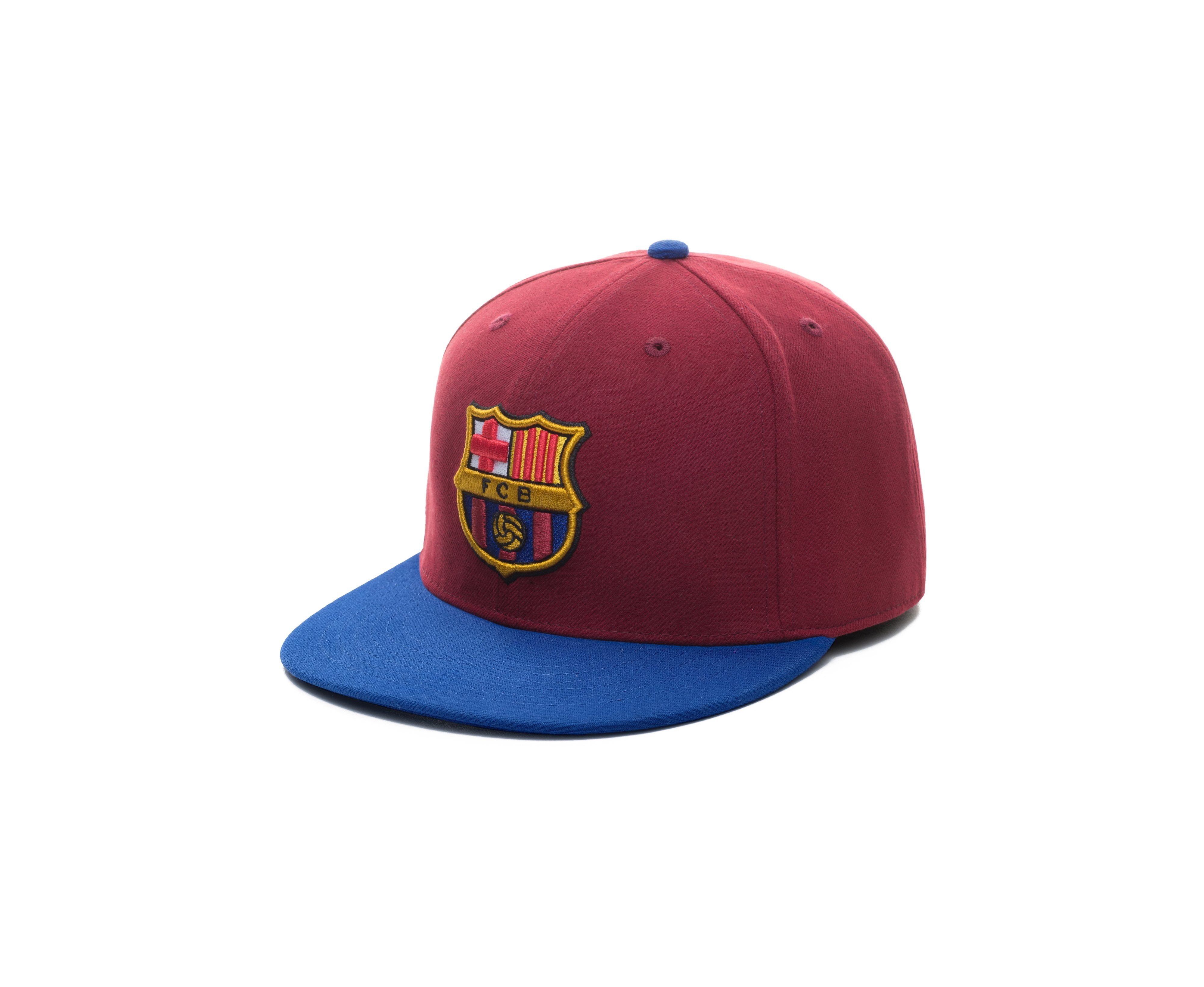 Barcelona Team Fitted Hat