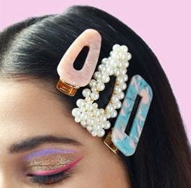 The 90's Hair Clip Revival