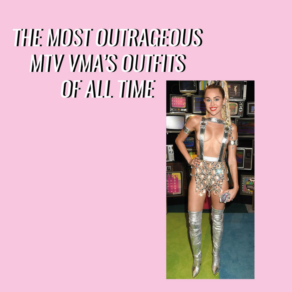 The most Outrageous MTV VMA outfits of all time