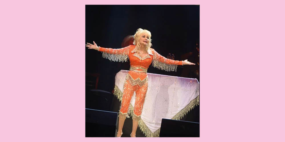 Dolly Parton West Carolina Fashion Orange Tennessee Silver Country