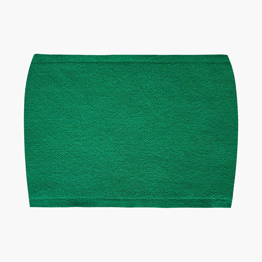 West Carolina good quality stretch Green Tube Top. Perfect for Spring and Summer or layering in Winter over a button up shirt. Stylish basics. Dress up and dress down.