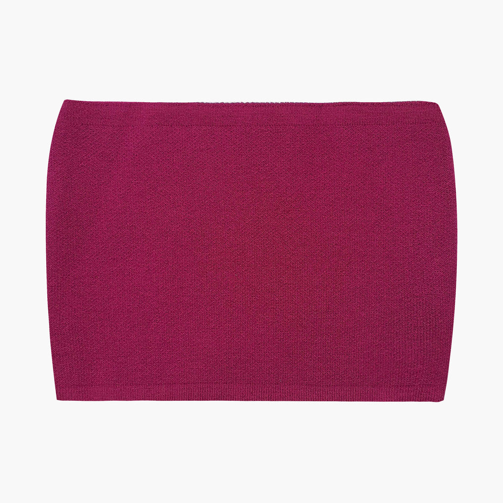 West Carolina good quality stretch Hot Pink Tube Top. Perfect for Spring and Summer or layering in Winter over a button up shirt. Stylish basics. Dress up and dress down.