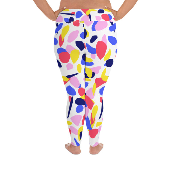 Multi colour Plus Size Leggings