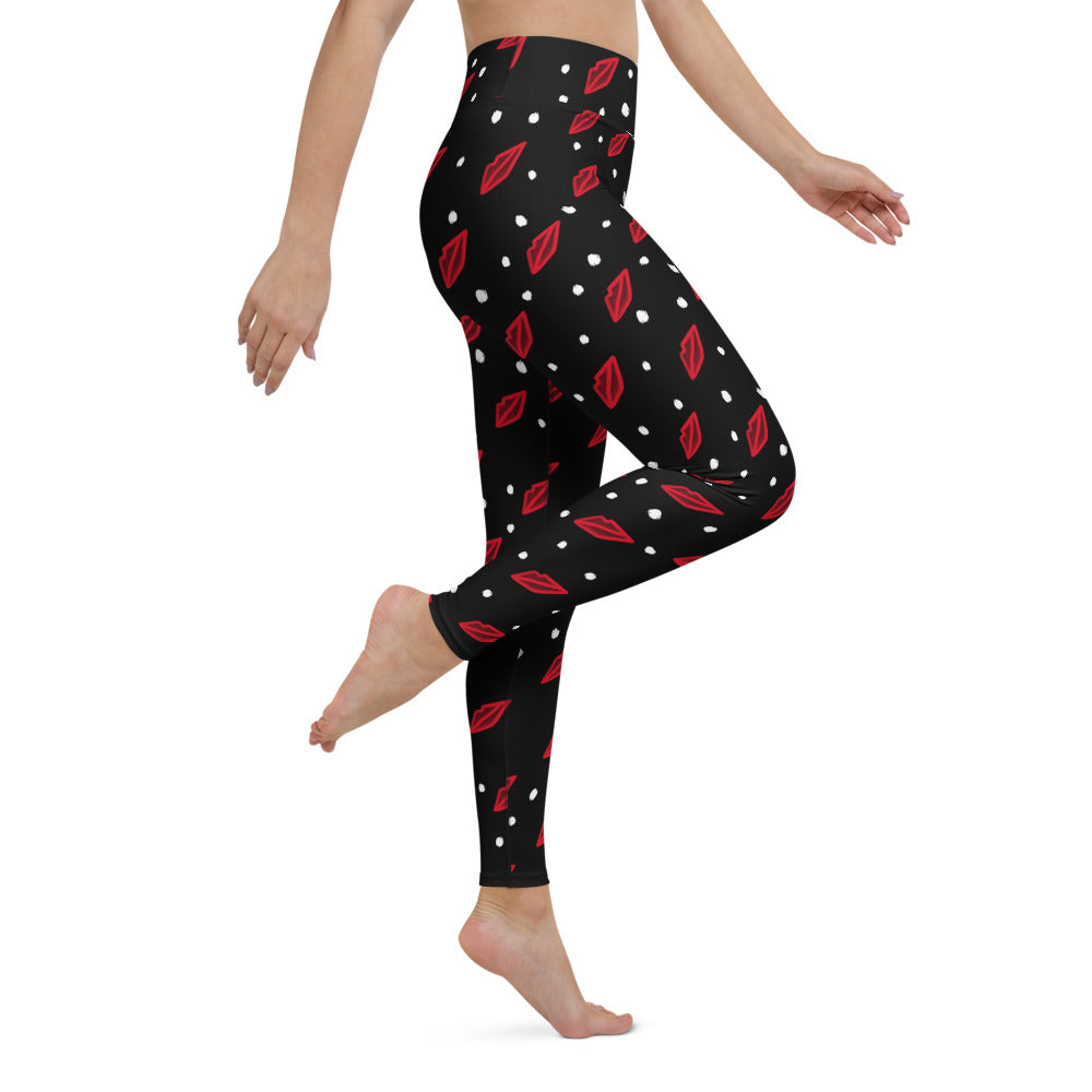 Red Lip Leggings