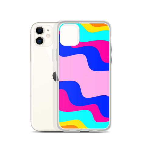 Wavy iPhone Case