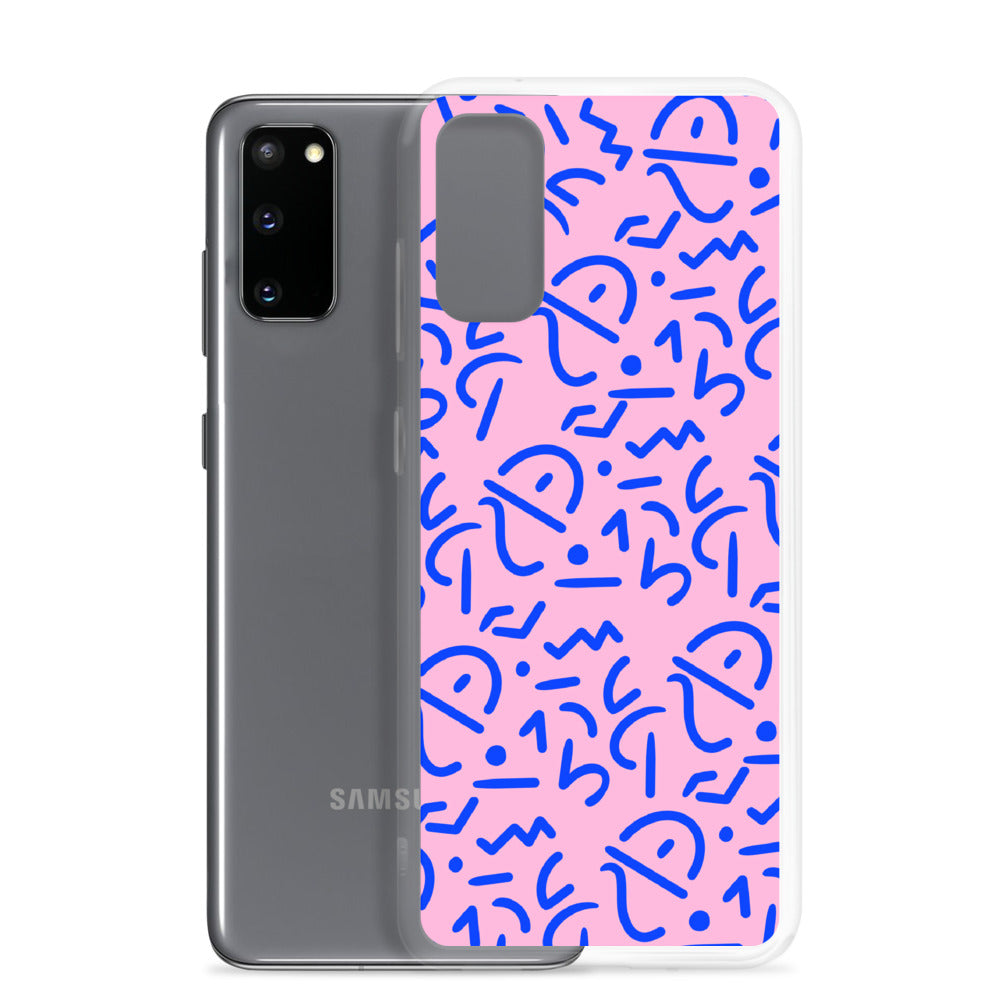 Pink Tribal Samsung Phone Case