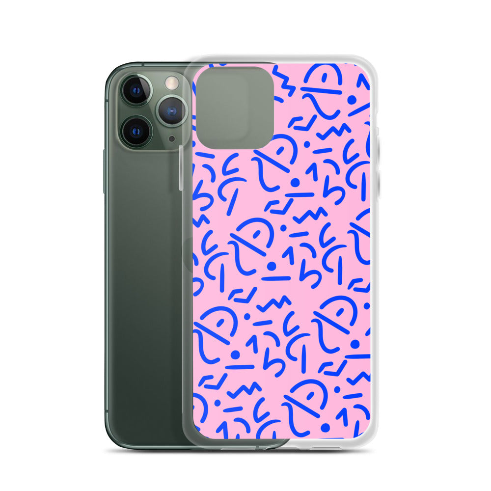 Pink Tribal iPhone Case