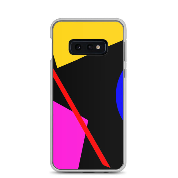 Black Memphis Samsung Phone Case