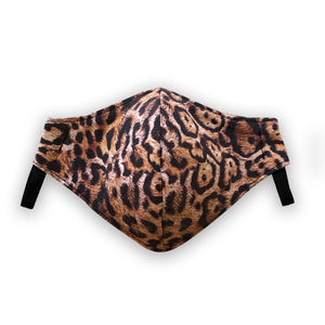 west carolina london leopard print face mask for corona virus covid