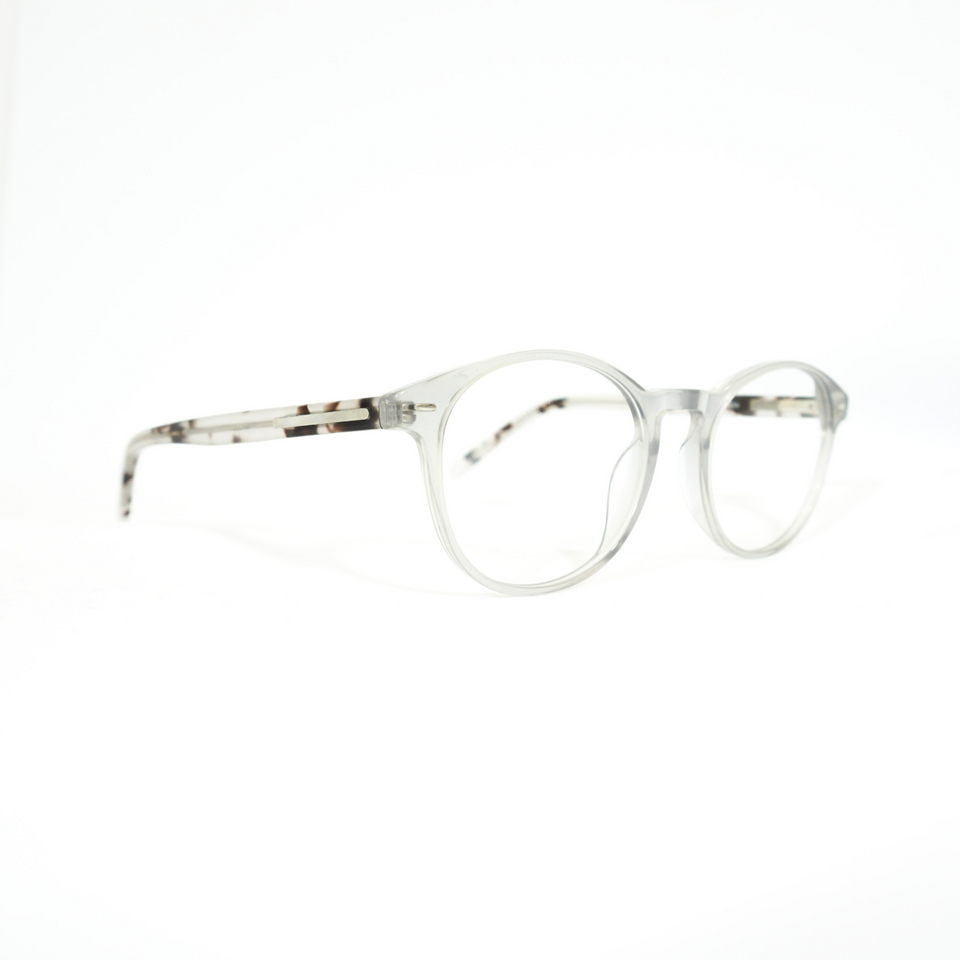 Oslo A|B Glasses - White/Grey (Sides)