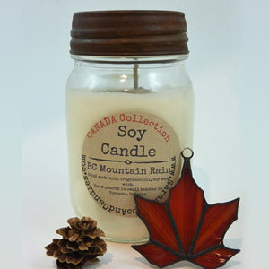 BC Mountain Rain Candle