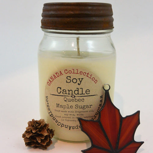 Quebec Maple Sugar Candle