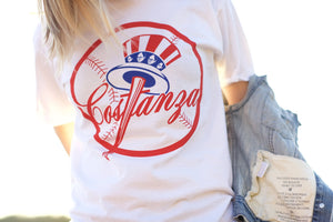 TEAM COSTANZA TEE WHITE