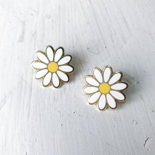 DAISY DUO ENAMEL PIN SET