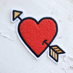 LOVESTRUCK CHENILLE PEEL N STICK PATCH