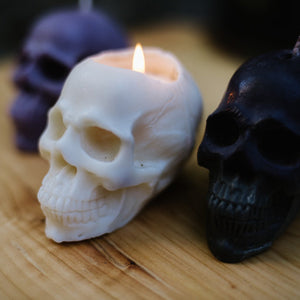 Soy Skull Candle