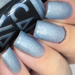 "5-Free Nail Polish ""Night King"" by Canvas Lacquer"
