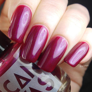 "5-Free Nail Polish ""Bend The Knee"" by Canvas Lacquer"