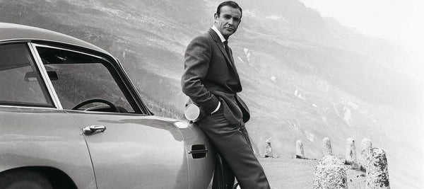 James Bond and Aston Martin