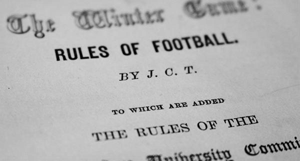 The origins of professional English football.