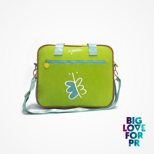 Biglove Multi-Functional One Shoulder Bag - Freedom / Green