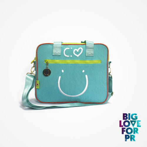 Biglove Multi-Functional One Shoulder Bag - Happiness / Blue