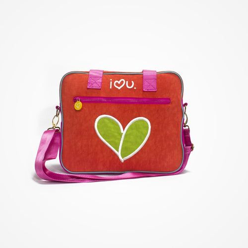 Biglove Multi-Functional One Shoulder Bag - Love / Red