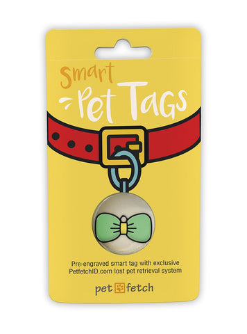Emoji Pet Tag - Bow Tie